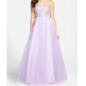 Lilac Ballgown Prom/Pageant Dress
